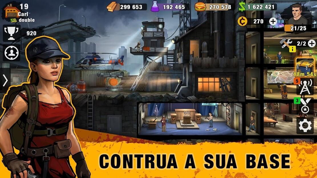 Zero City Zombie Shelter Survival Simulator apk free 2021 v 1.22.1