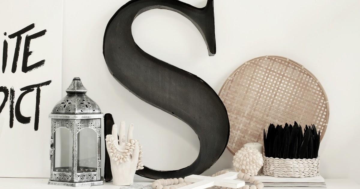 Diy letra decorativa de estilo industrial alquimia deco - Alquimia deco ...