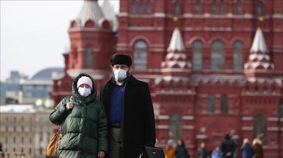 روسيا تسجل اكبر زيادة يومية في اصابات كورونا