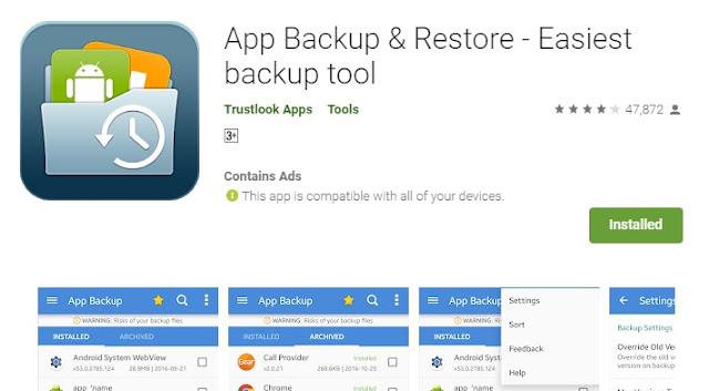 Cara Backup Aplikasi Menjadi File APK Supaya Bisa Dikirim Lewat Bluetooth