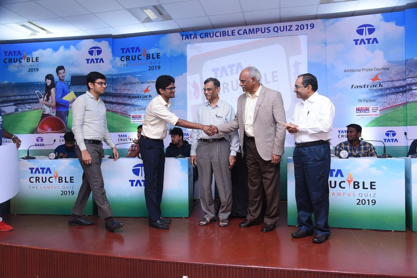 GIM Gallery: Tata Crucible Business Quiz 2019 Winners