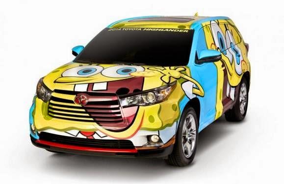 2014 Toyota Highlander Spongebob Squarepants Review