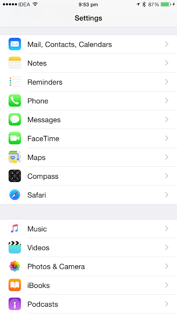 How to clear Safari browser history and website data on an iPhone or iPad running iOS 8