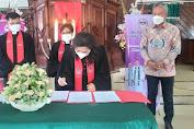 Bupati FDW Hadiri Acara Pisah Sambut Ketua Jemaat GMIM Imanuel Kawangkoan Bawah