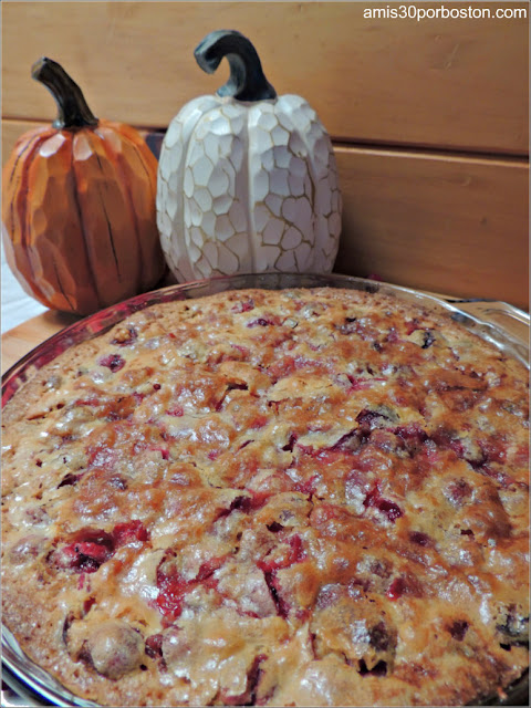 Nantucket Style Cranberry Pie