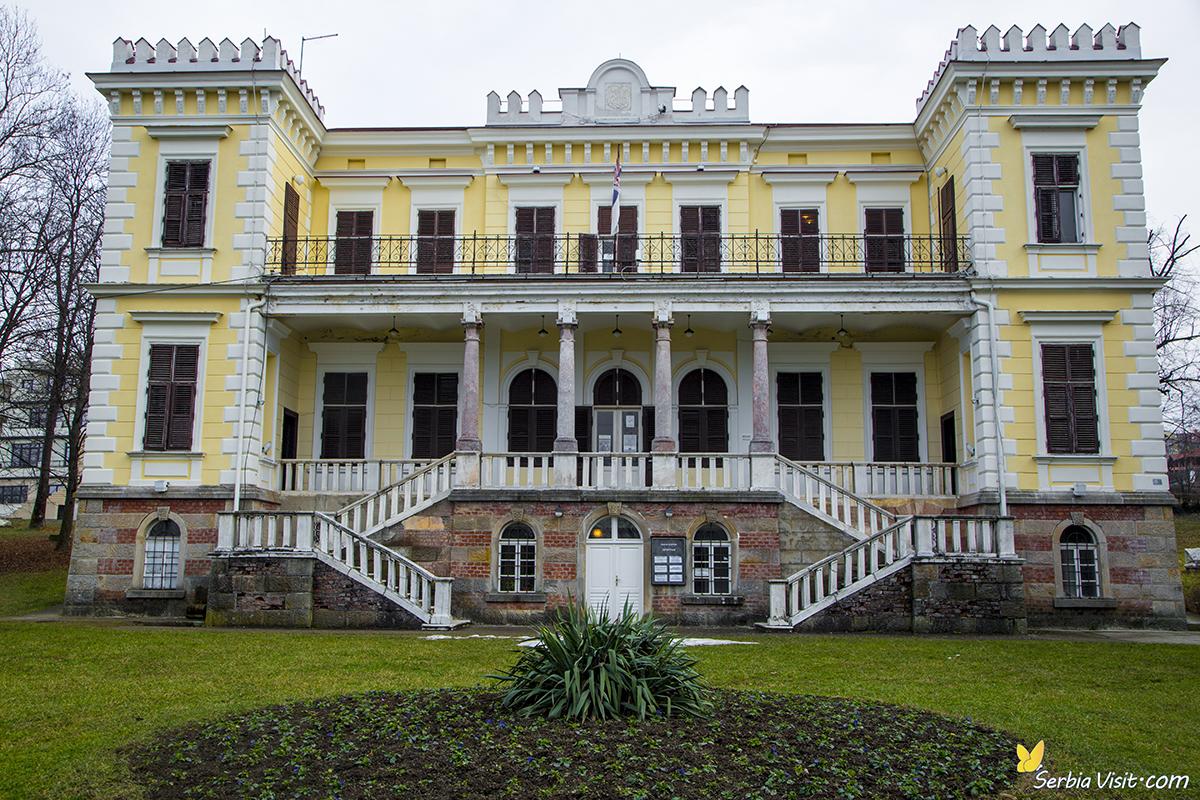 belimarkovic castle was erected between 1882 and 1887 in vrnjacka spa by general jovan belimarkovic minister of king milan obrenovic and governor of the