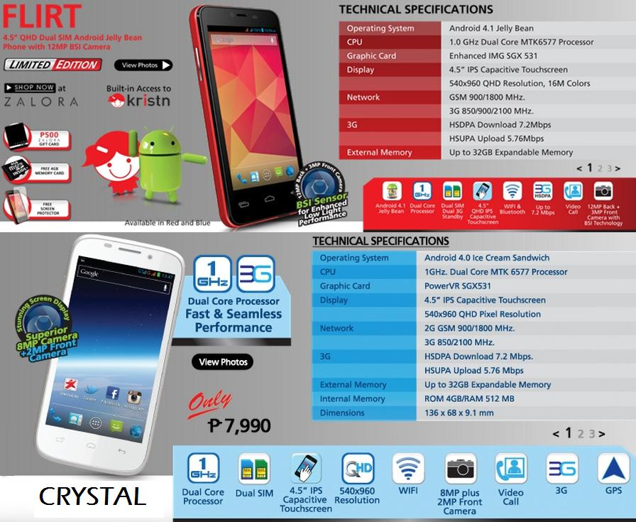 starmobile flirt price and specs