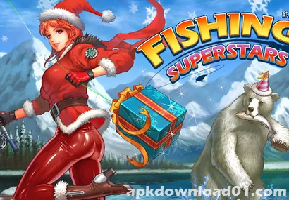 釣魚大師 APK / APP 下載,Fishing Superstars APK Download,釣魚遊戲 APP,Android 版