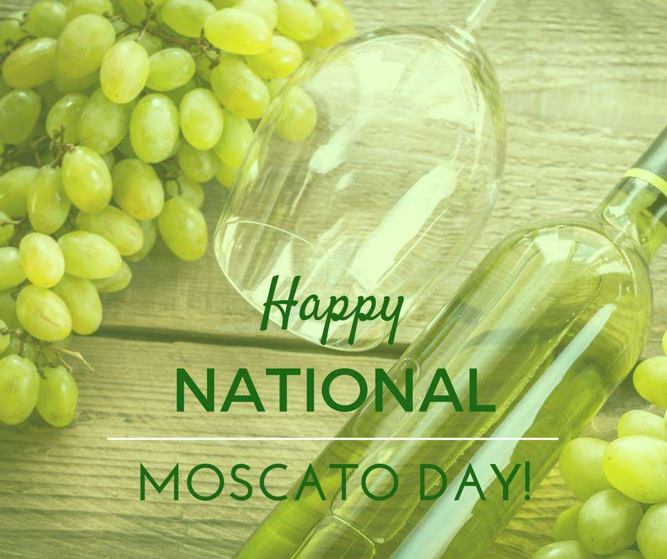 National Moscato Day Wishes Unique Image