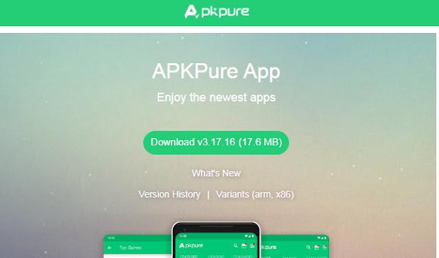 Tải APKPure - Công cụ tải Apk trực tuyến trên APKPure.Com miễn phí a