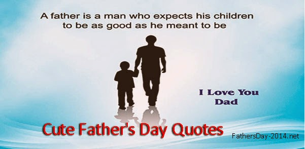Cute Fathers Day Quotes 2018 From Daughter Son Top 10