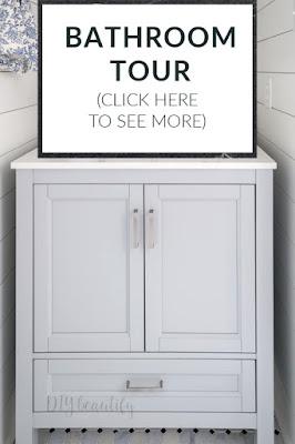 DIY Beautify bathroom tour