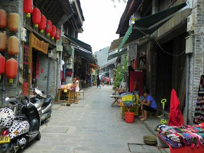 xingping calle principal china