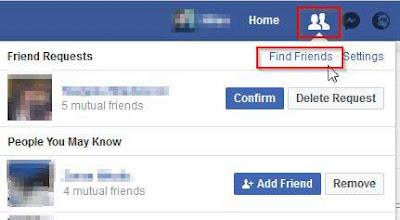 Brisanje zahteva za facebook prijateljstvo