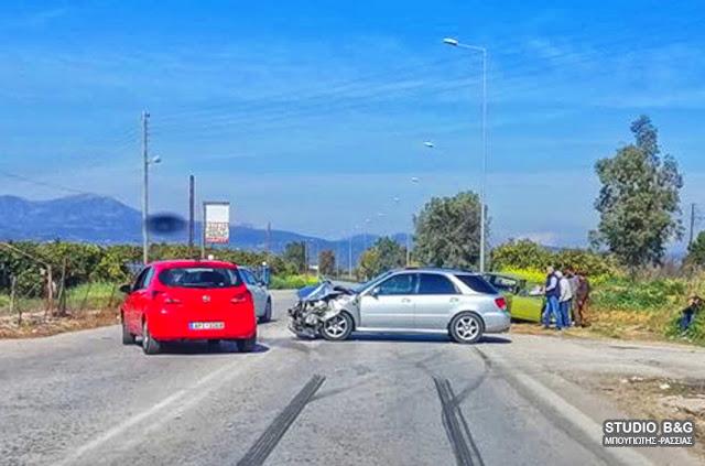 Τροχαίο στο Άργος με τραυματίες