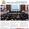 DPRD Karawang Laksanakan Rapat Paripurna, Bahas Enam Agenda