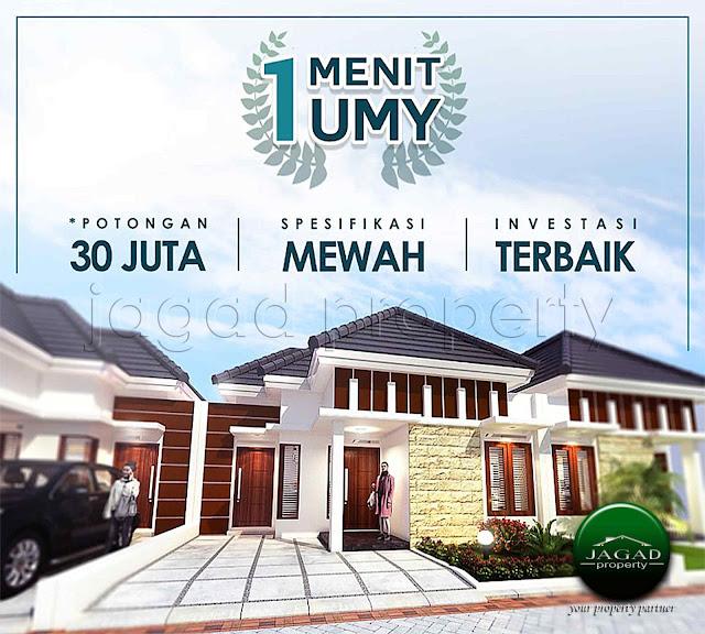 Rumah Siap Bangun dekat Kampus UMY