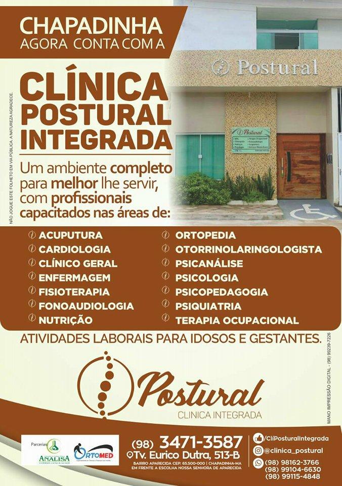Chapadinha agora conta com a Clínica POSTURAL INTEGRADA, um ambiente completo.