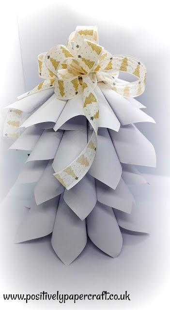 Christmas craft tutorial, Positivelypapercraft