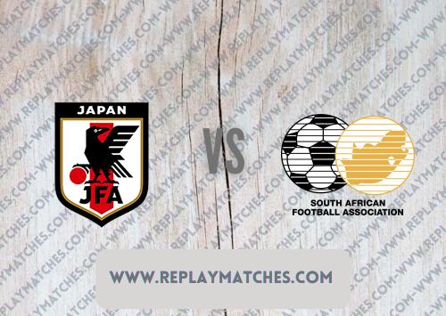 Japan U23 vs South Africa U23 -Highlights 22 July 2021