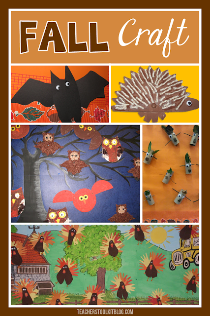 fall autumn craft pictures for first grade