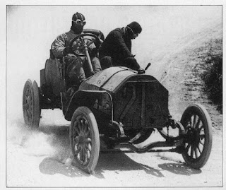 The first Targa Florio in 1906 was won by Alessandro Cagno, driving an Turin-based Itala car