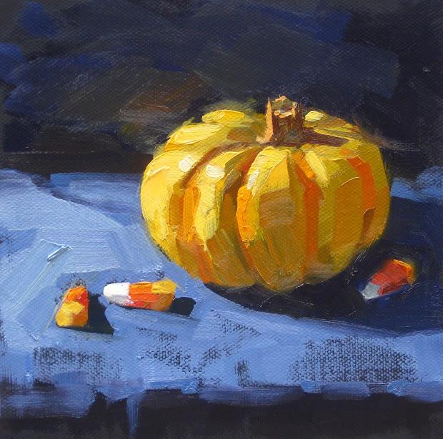 Halloween Pumpkin Painting Art