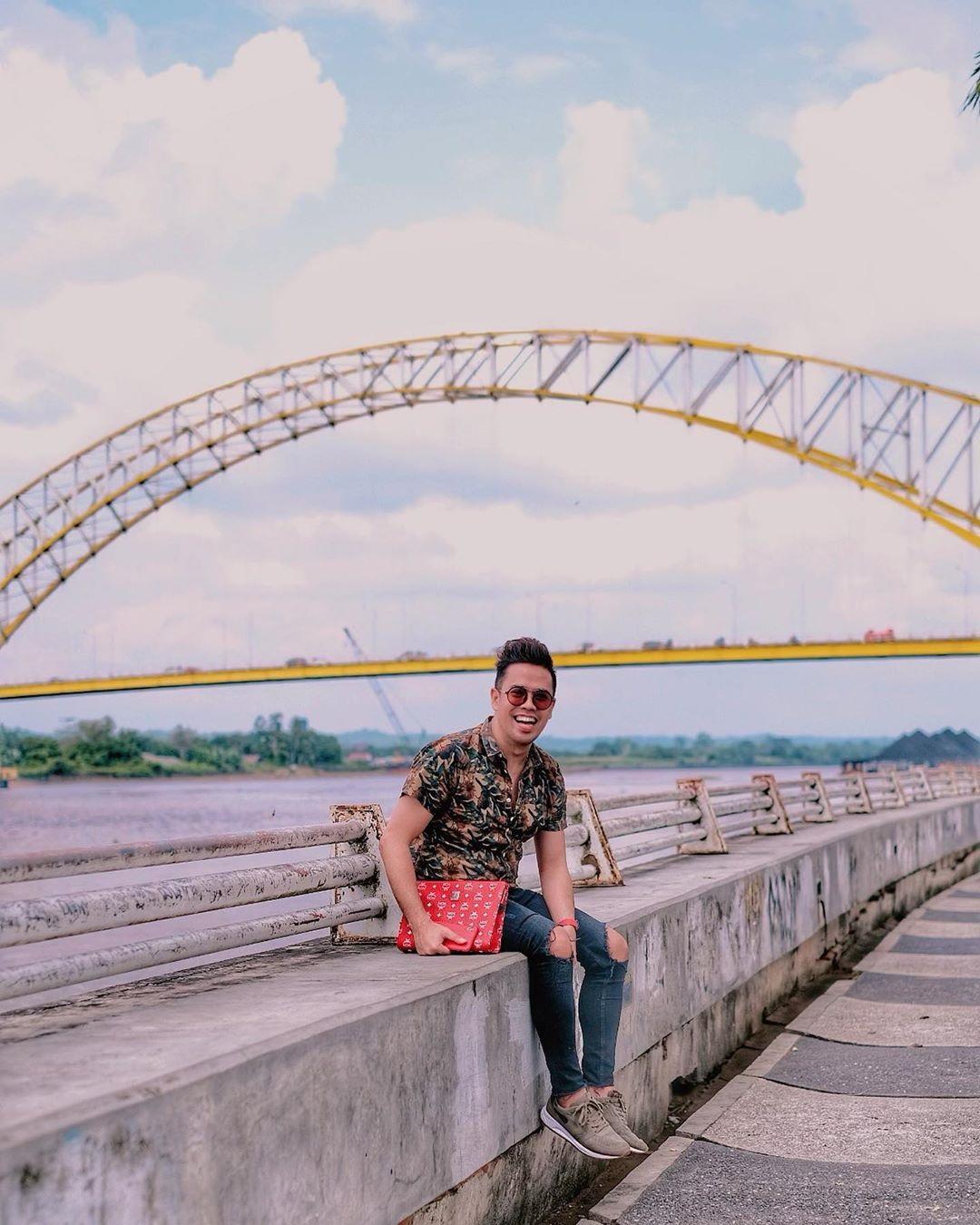Jembatan Kutai Kartanegara Kalimantan Timur