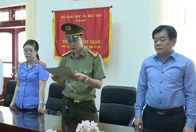 Ông Hoàng Tiến Đức Giám đốc sở GD Sơn La