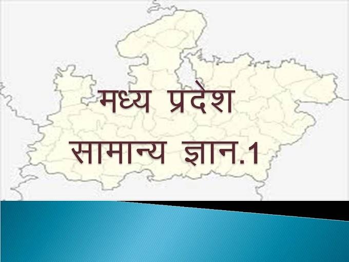 मध्य प्रदेश की सांस्कृतिक अकादमी स्थापना MP GK IN HINDI