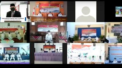 Pengambilan Sumpah & Pelantikan 43 Kepala Desa Kab Purworejo 2021