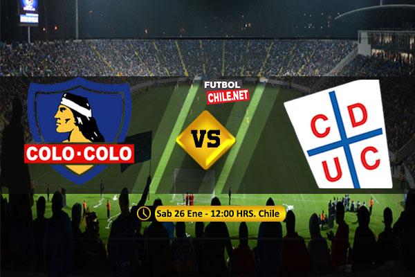 Mira Colo Colo vs Universidad Católica en vivo y online por el Torneo Fox Sports