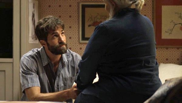 Rael diz que a maior vingança dos Matheus seria ver Jô como inimiga de Maria da Paz (Imagem: Reprodução/TV Globo)