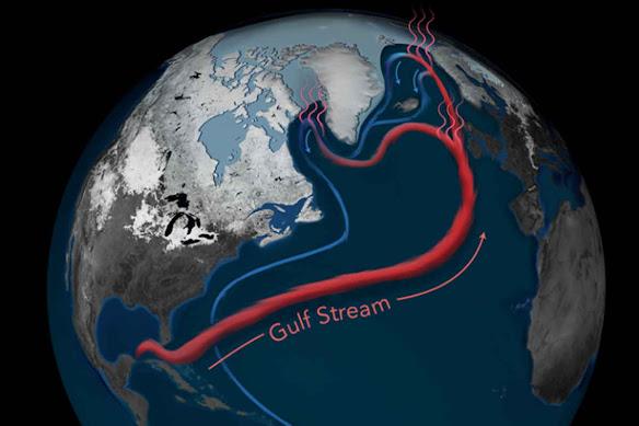 Probabili inverni sempre più freddi: la Corrente del Golfo sta rallentando
