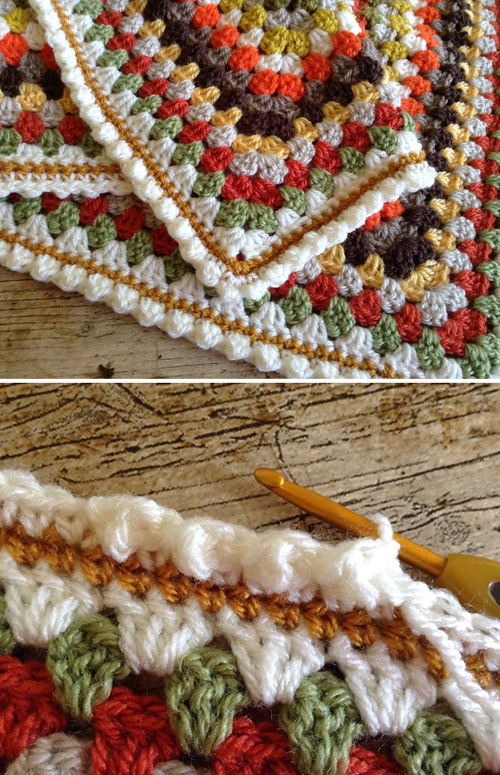 Cute Bobble Edging - Free Pattern & Tutorial