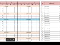 Download Aplikasi Jadwal Pelajaran Anti Bentrok SD,SMP dan SMA Format Excel Terbaru