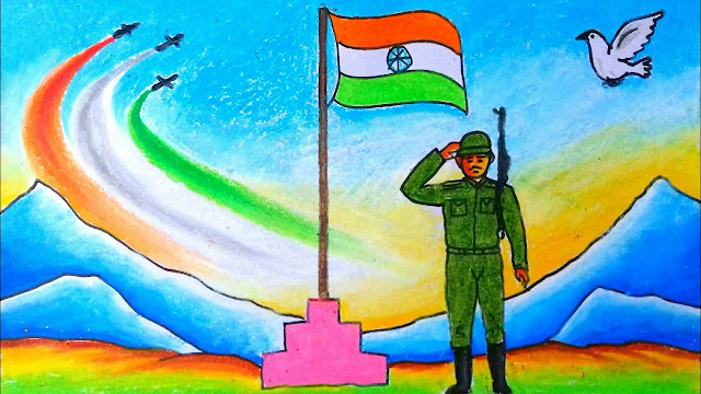 Independence Day Drawing Images