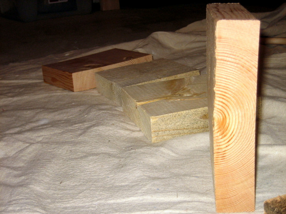 How to create wood blocks