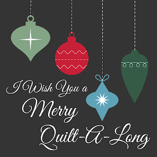 Christmas quilt-a-long with free block patterns