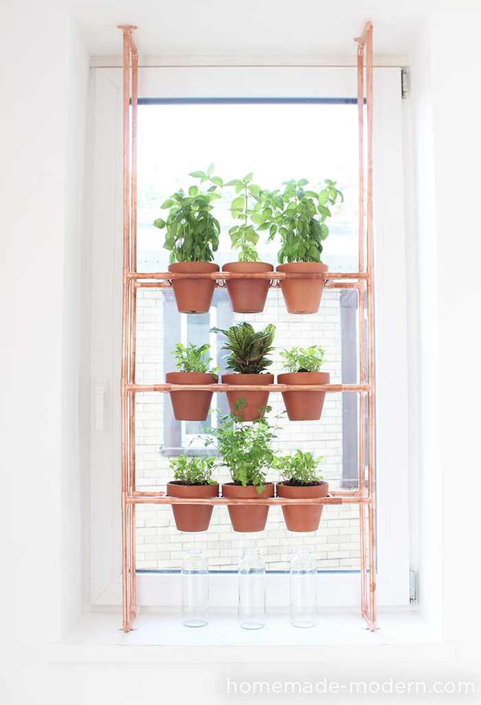 Diy to try indoor herbs garden ohoh blog for Design indoor herb garden
