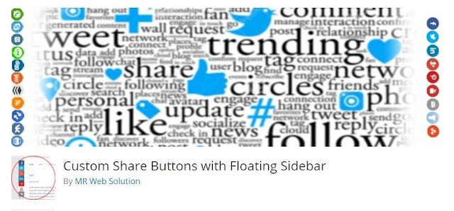 Floating share plugins for wordpress