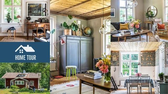 ΞΕΧΩΡΙΣΤΑ ΣΠΙΤΙΑ: Ένα τυπικό Σκανδιναβικό σπίτι στην εξοχή