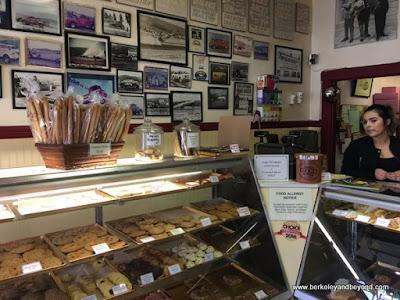 interior of Half Moon Bay Bakery In Half Moon Bay, California