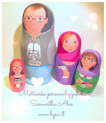 Matrioska personalizzata family