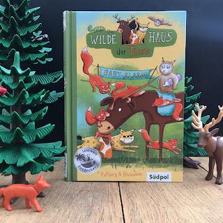 """""""Das Wilde Haus der Tiere - Baby-Alarm"""", Südpol Verlag, Rezension auf Kinderbuchblog Familienbücherei"""