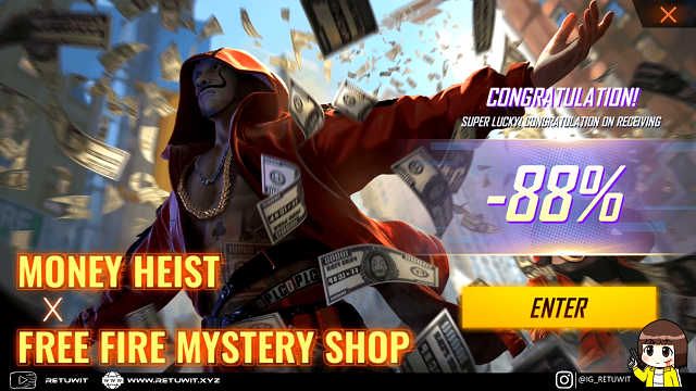 Event Mystery Shop Terbaru FF Diskon 88% Ini Triknya