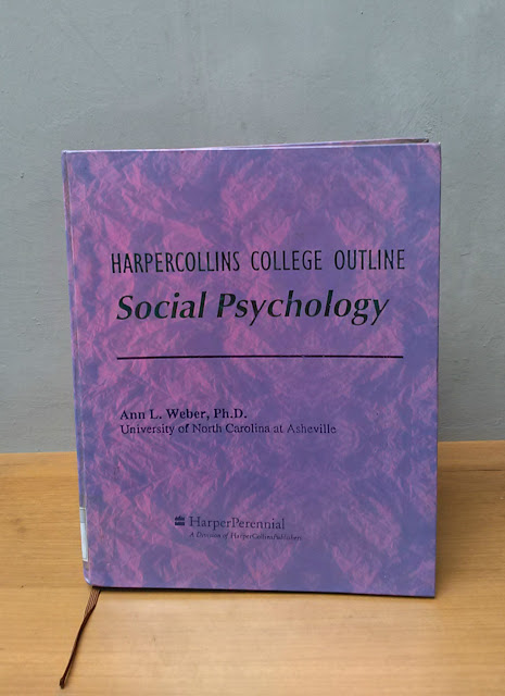 SOCIAL PSYCHOLOGY, Ann L. Weber