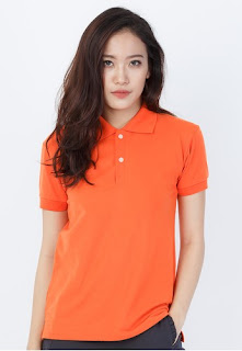 áo thun cá sấu màu cam