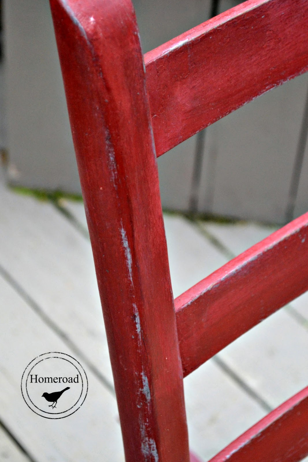Antique Rocker with an Upholstery Webbing Seat