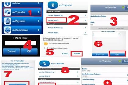 Cara Transfer dari BCA Mobile Banking Ke Rekening Bank Lain